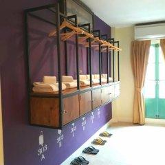 Хостел Siri Poshtel Bangkok Кровать в общем номере с двухъярусной кроватью фото 13