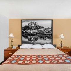 Отель Super 8 by Wyndham Diamondville Kemmerer США, Даймондвилл - отзывы, цены и фото номеров - забронировать отель Super 8 by Wyndham Diamondville Kemmerer онлайн комната для гостей фото 5