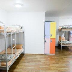 YaKorea Hostel Dongdaemun Кровать в общем номере с двухъярусной кроватью фото 10