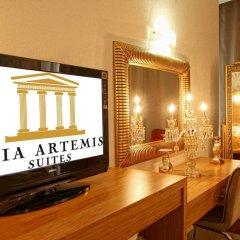 Отель Asia Artemis Suite 3* Улучшенный номер с различными типами кроватей фото 2