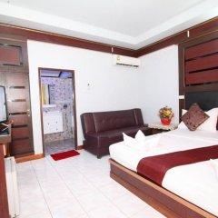 Отель Lanta Paradise Beach Resort 3* Улучшенное бунгало с различными типами кроватей фото 5