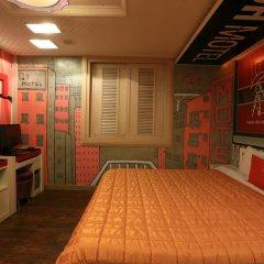 Haeundae Grimm Hotel 2* Стандартный номер с различными типами кроватей фото 7