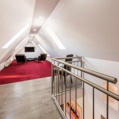 Отель Bürgerhofhotel 3* Стандартный номер с различными типами кроватей фото 12