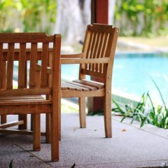 Отель Two Villas Holiday Oriental Style Layan Beach 4* Вилла с различными типами кроватей фото 10