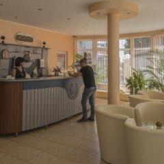 Отель Sun City Hotel Болгария, Солнечный берег - отзывы, цены и фото номеров - забронировать отель Sun City Hotel онлайн интерьер отеля фото 3