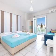 Отель Ilios Studios Stalis Студия с различными типами кроватей фото 11