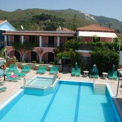 Отель Sofia's Hotel Греция, Каламаки - отзывы, цены и фото номеров - забронировать отель Sofia's Hotel онлайн бассейн