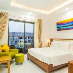 Hotel Amon 3* Номер Делюкс с двуспальной кроватью фото 3