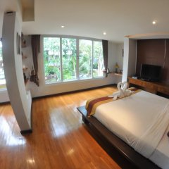 Отель Baan Khao Hua Jook 3* Вилла с различными типами кроватей фото 5