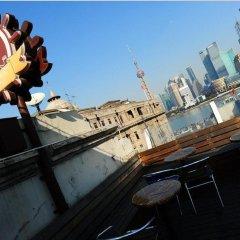Отель Captain Hostel Китай, Шанхай - 1 отзыв об отеле, цены и фото номеров - забронировать отель Captain Hostel онлайн балкон