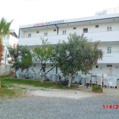 Отель Mavi Cennet Camping Pansiyon Сиде парковка