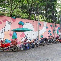 Отель P & R Residence Бангкок парковка