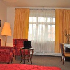 Hotel Svornost 3* Люкс с различными типами кроватей фото 12