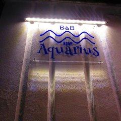 Отель Aquarius Rome сауна