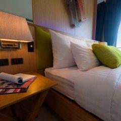 Отель Deep Blue Z10 Pattaya Стандартный номер с различными типами кроватей фото 15
