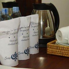 Отель Sole Luna Resort & Spa 3* Номер Делюкс с различными типами кроватей фото 6
