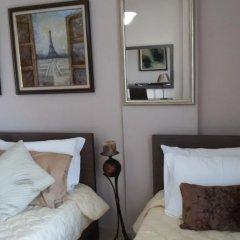 Hotel Relax Dhermi 4* Стандартный семейный номер с двуспальной кроватью фото 5