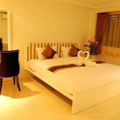 Отель I Am Residence 3* Студия Делюкс с двуспальной кроватью фото 11