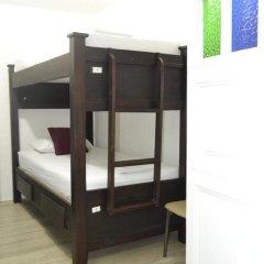 Отель Hostal Pajara Pinta Кровать в общем номере с двухъярусной кроватью фото 15