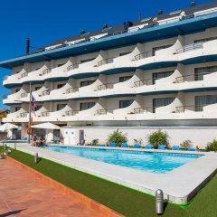 Отель Apartamentos Astuy бассейн