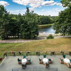 Отель Violeta Литва, Друскининкай - отзывы, цены и фото номеров - забронировать отель Violeta онлайн приотельная территория