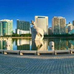 Отель Lakeside Hotel Xiamen Airline Китай, Сямынь - отзывы, цены и фото номеров - забронировать отель Lakeside Hotel Xiamen Airline онлайн бассейн фото 3