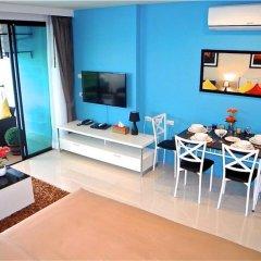 Апартаменты Bliss Patong Modern Studio комната для гостей фото 4