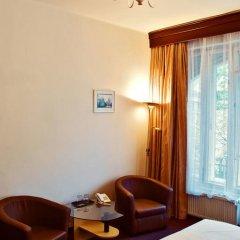 Hotel Meran 3* Стандартный номер с двуспальной кроватью фото 22