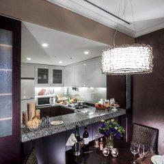 Отель Oakwood Premier Coex Center Улучшенные апартаменты с различными типами кроватей фото 2