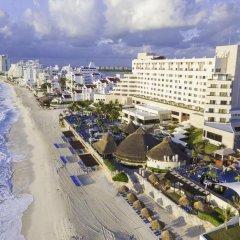 Отель Royal Solaris Cancun - Все включено Мексика, Канкун - 8 отзывов об отеле, цены и фото номеров - забронировать отель Royal Solaris Cancun - Все включено онлайн пляж фото 4