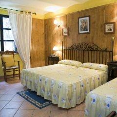 Hotel Rural Soterraña 3* Стандартный семейный номер с двуспальной кроватью фото 6