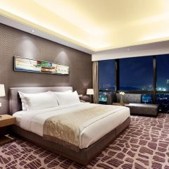 Huaqiang Plaza Hotel Shenzhen 4* Представительский люкс с различными типами кроватей фото 3