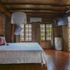 Отель Seaside An Bang Homestay 2* Улучшенный номер с различными типами кроватей фото 10