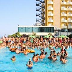 Отель Grand Eurhotel сауна