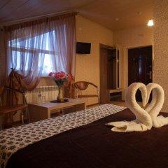 Мини-отель Бархат Номер Комфорт с двуспальной кроватью фото 2
