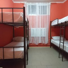 Хостел Кутузова 30 Кровать в общем номере с двухъярусной кроватью фото 11