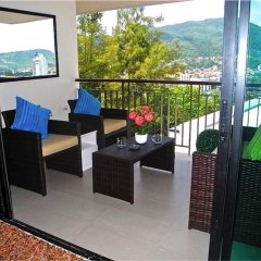 Апартаменты Bliss Patong Modern Studio балкон