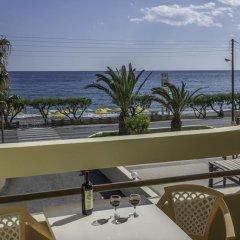 Tylissos Beach Hotel 4* Стандартный номер с различными типами кроватей фото 10