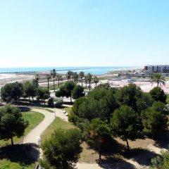 Отель Apart-hotels Mar Blava Кунит пляж фото 2