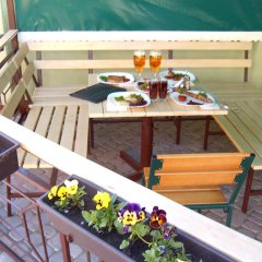 Гостиница Pansion HotelHostel MiniHotel балкон