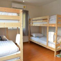 PanPan Hostel Bangkok Кровать в общем номере фото 2