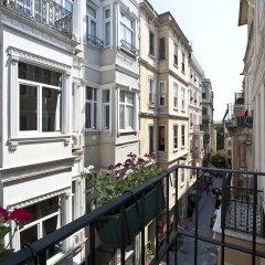 Отель Snog Rooms & Suites Стамбул балкон