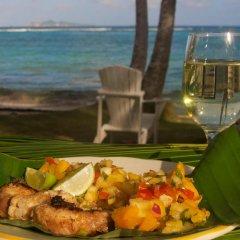 Отель Sugar Reef Bequia Сент-Винсент и Гренадины, Остров Бекия - отзывы, цены и фото номеров - забронировать отель Sugar Reef Bequia онлайн питание