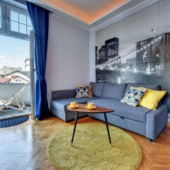 Апартаменты Apartamenty Nadmorskie Marina Apartments Сопот комната для гостей фото 3