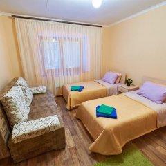 Гостевой Дом Снежный Барс комната для гостей фото 2