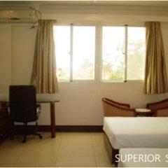 Hotel Chez Wou 2* Стандартный номер с 2 отдельными кроватями фото 2