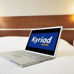 Отель KYRIAD PARIS EST - Bois de Vincennes 3* Стандартный номер с различными типами кроватей фото 7