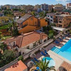 Отель Apartamentos Embajador Испания, Фуэнхирола - отзывы, цены и фото номеров - забронировать отель Apartamentos Embajador онлайн балкон