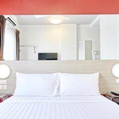 Отель Red Planet Bangkok Asoke 2* Стандартный номер с различными типами кроватей фото 14