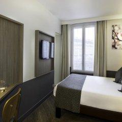Отель Contact ALIZE MONTMARTRE 3* Улучшенный номер с двуспальной кроватью фото 7